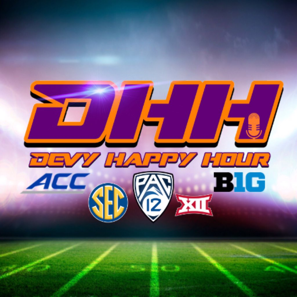 With @MandrewNFLDraft leaving @DevyHappyHour, @FFPeeblesChamp and @CommishMaGriff go over their buy/sell of the SEC. With an empty spot on the podcast, @RayGQue will be in next week with the guys. But check out what they think of the SEC!! dynastyhappyhour.podbean.com/e/devy-happy-h…