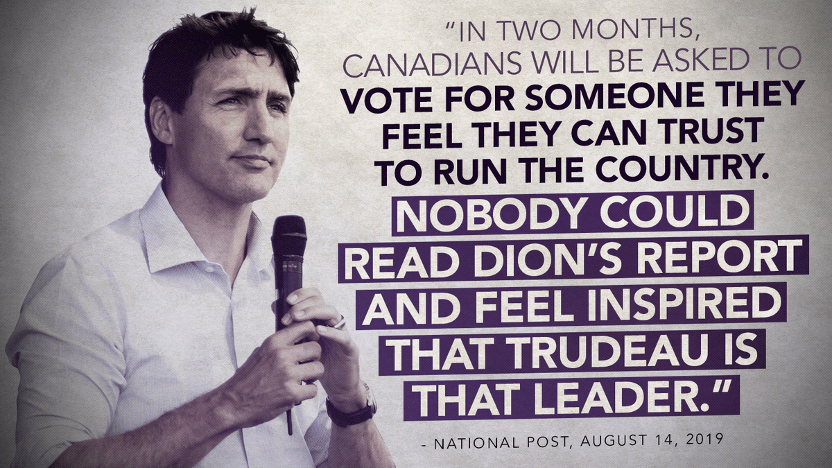 A Prime Minister who breaks the law simply can't be trusted with the duties and responsibilities of that office.  #cdnpoli <br>http://pic.twitter.com/9nRUXCHPXx