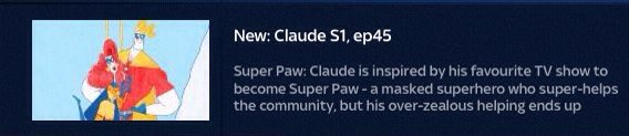 Very excited as another of @Alex_T_Smith #Claude episodes the we wrote Super Paw debuts on @DisneyJuniorUK tomorrow morning Sat 17th August at 7am! @sixteensouth