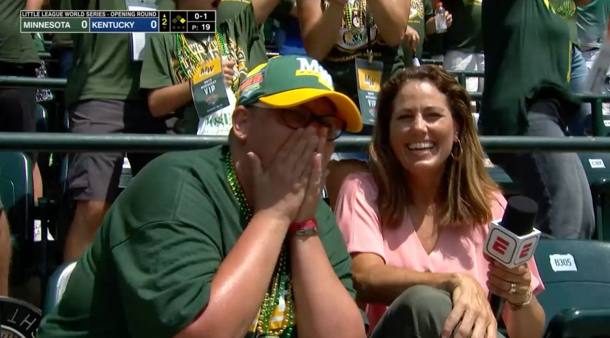 Heartwarming Moment In The Stands At The Little League World Series