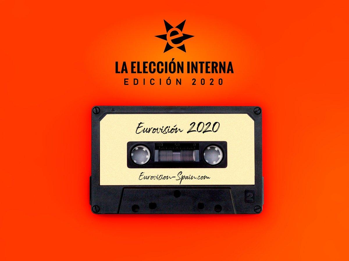 #LaEleccionInternaES 2020: La canción ideal. Estrenamos la 11ª edición de la votación en la que los eurofans eligen al representante ideal de España en Eurovisión ¡Propón a tus artistas favoritos y, como novedad, también sus temas! #EurovisionSpain16AGO eurovision-spain.com/iphp/noticia.p…