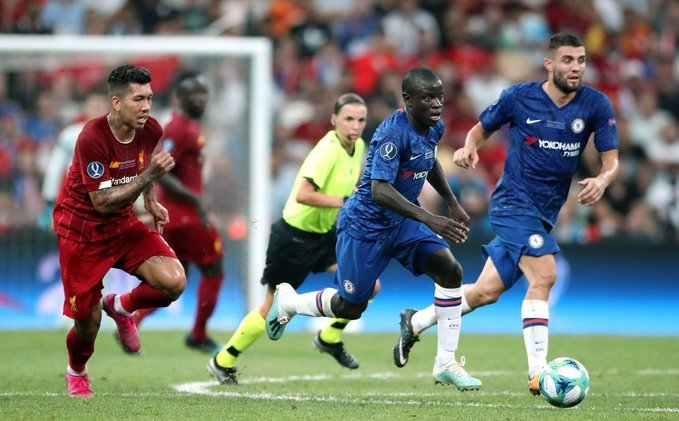 """""""Those who hammered his predecessor Maurizio Sarri for using Jorginho as the pivot in central midfield, with N'Golo Kanté on the right, didn't raise a murmur of protest on Wednesday when Frank Lampard did the same thing.""""  - Robbie Savage  If I say anything right now...  #CFC"""