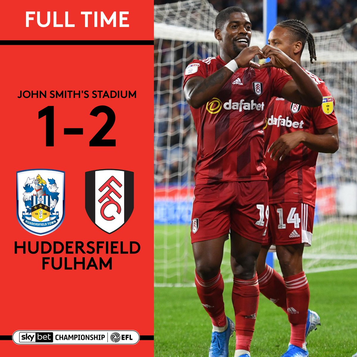 Replying to @FulhamFC: A @Ivancavaleiro17 special wins it for us!  Love Friday night football! ❤️  #HUDFUL