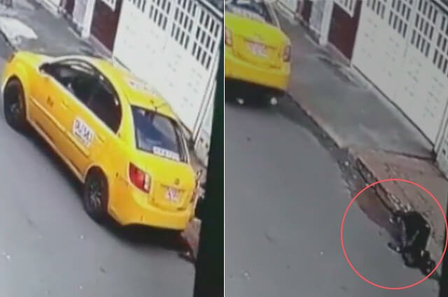 ¡Qué belleza! Taxista le cobró casi el doble a abuelita y la tumbó cuando se estaba bajando >>> https://buff.ly/2Z2d6n9