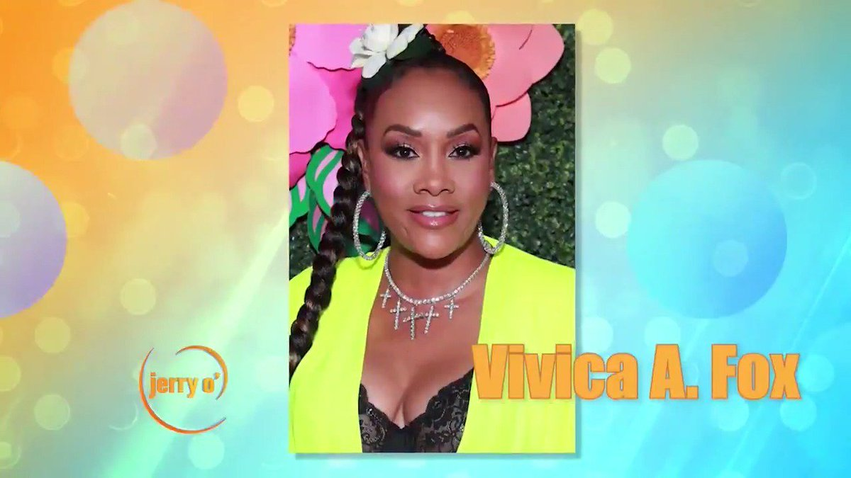 """MONDAY: The talented @MsVivicaFox stops by to tell Jerry about the final season of @EmpireFOX and her motivational memoir """"Everyday I'm Hustling"""". Get your local listings at: http://jerryoshow.com"""