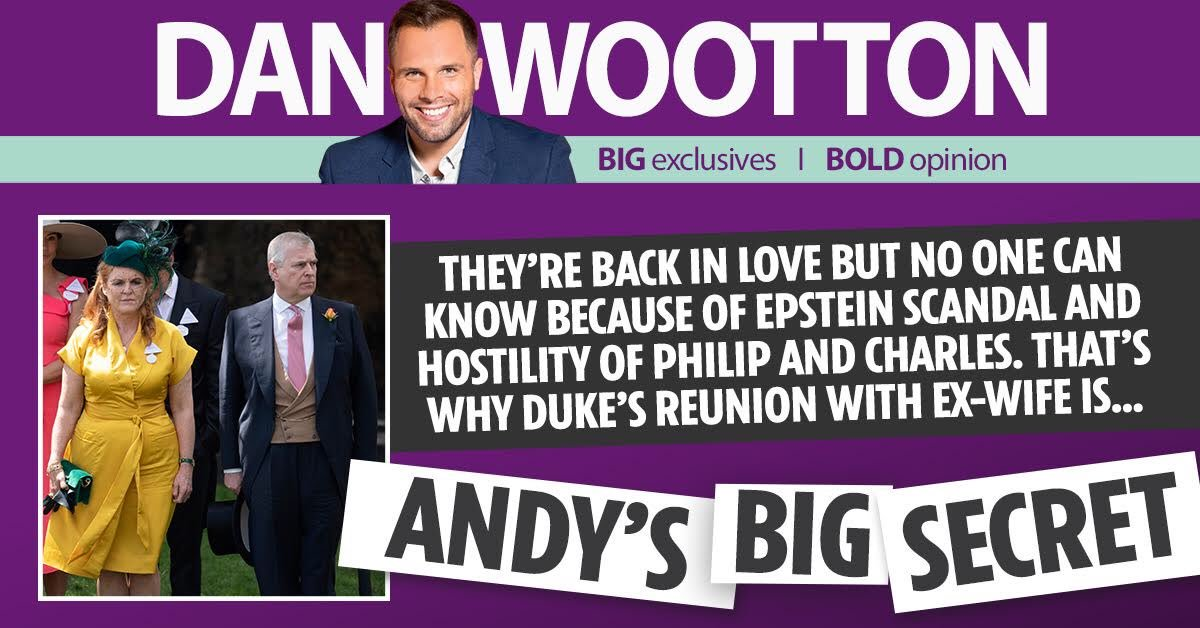 Could Prince Andrew REALLY remarry Fergie? Once unthinkable, some in the royal family think it's a possibility, especially after his Epstein horror: I investigate here. thesun.co.uk/news/9739763/p…