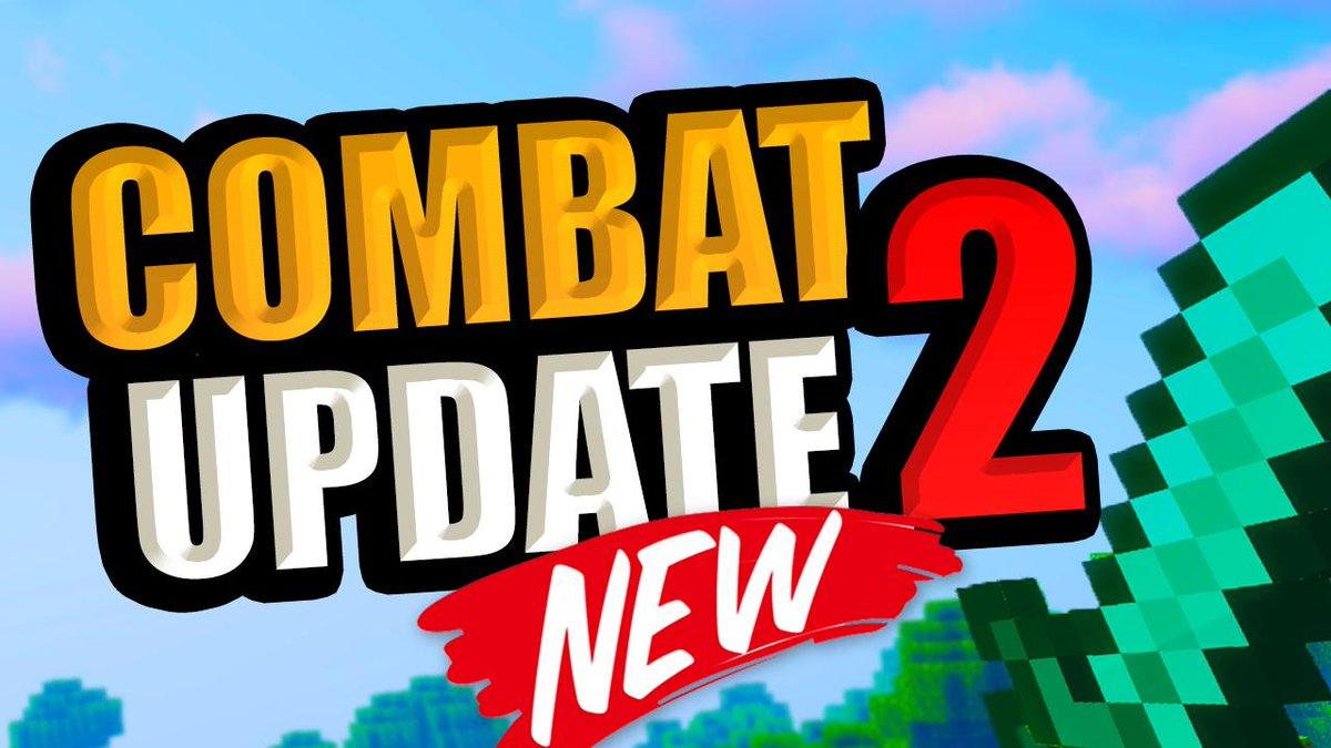 Minecraft Combat Update 2  ESTRENO   https://www. youtube.com/watch?v=ZUjct5 KQC64&feature=youtu.be  … <br>http://pic.twitter.com/zV16wJJY1L