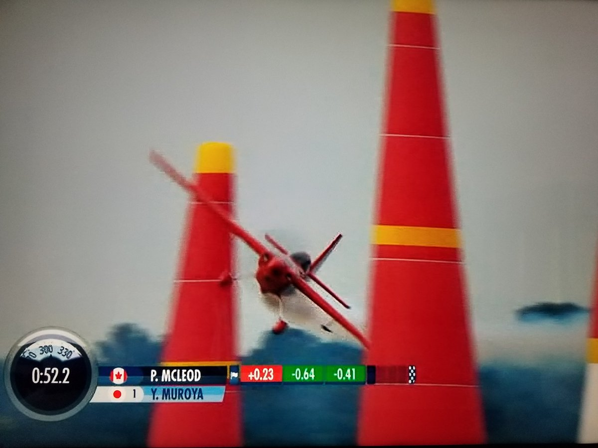 Watching @redbull Air Racing. The skill of these pilots is incredible.