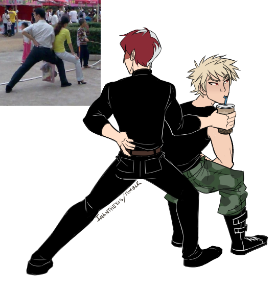 It's been ages since I drew anything but uhh... I had to draw this because todobaku is great and Todoroki and Bakugou are nerds. #todobaku<br>http://pic.twitter.com/zXPXx1QN3r