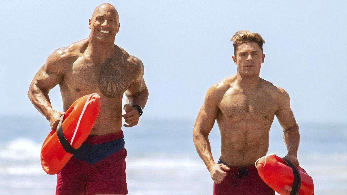 And now it's time for your afternoon snacc. Thanks, @TheRock and @ZacEfron.