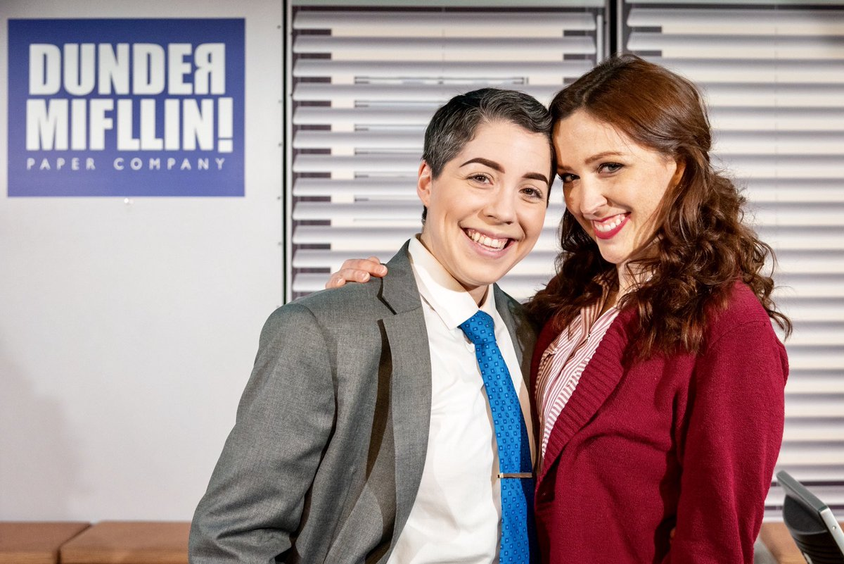BEESLY SCOTT 2020: The smash hit political dramedy running Off-Broadway for another 5 months (ICYMI we're extended again, TWSS, okay I'm done)  #mixedberry4lyfe #actorlife #offbroadway #theofficemusical #redheadsdoitbetter<br>http://pic.twitter.com/0AkJkxCigk