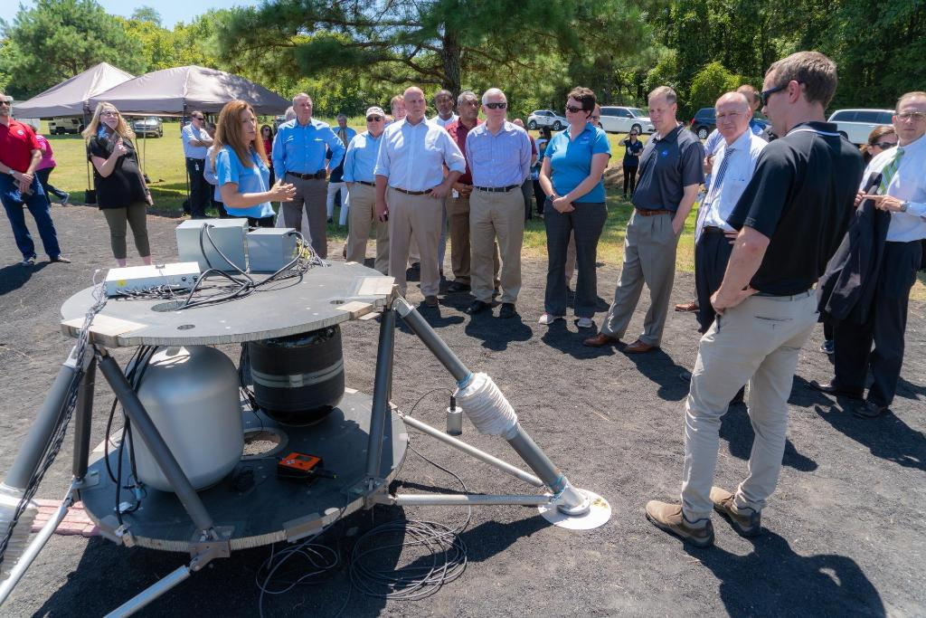 Thanks to @JimBridenstine and everyone else who joined us at #NASAMarshall today! go.nasa.gov/33I23iu