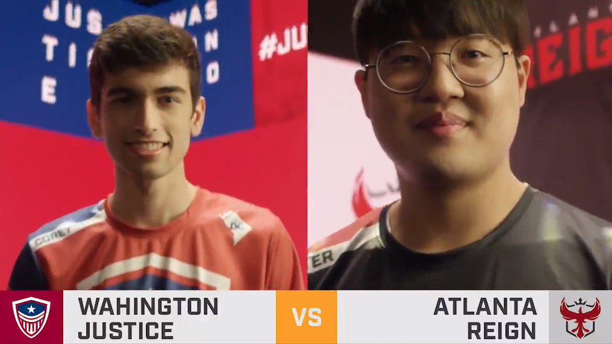 An important #OWL2019 match for the @ATLReign today, but the @washjustice and their perfect stage hopes are standing in their way. Give us your predictions! 👇 🔴 twitch.tv/overwatchleague