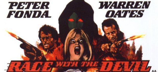 Race with the Devil: My favourite #PeterFonda movie. A 70s folk horror classic. Got Warren Oates in it too. Saw it @ Odeon in Newport. Certified AA <br>http://pic.twitter.com/eOOwOvEGti