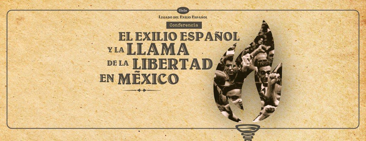 """#Ahora #EnVivo Ciclo """"Legado del exilio español"""".Conferencia: El exilio español y la llama de la libertad en MéxicoImparte: Luciano Concheiro BórquezCoordina: Adolfo Martínez Palomo📽️: http://bit.ly/2MOOqrw"""