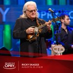 Image for the Tweet beginning: Don't miss Ricky Skaggs, live