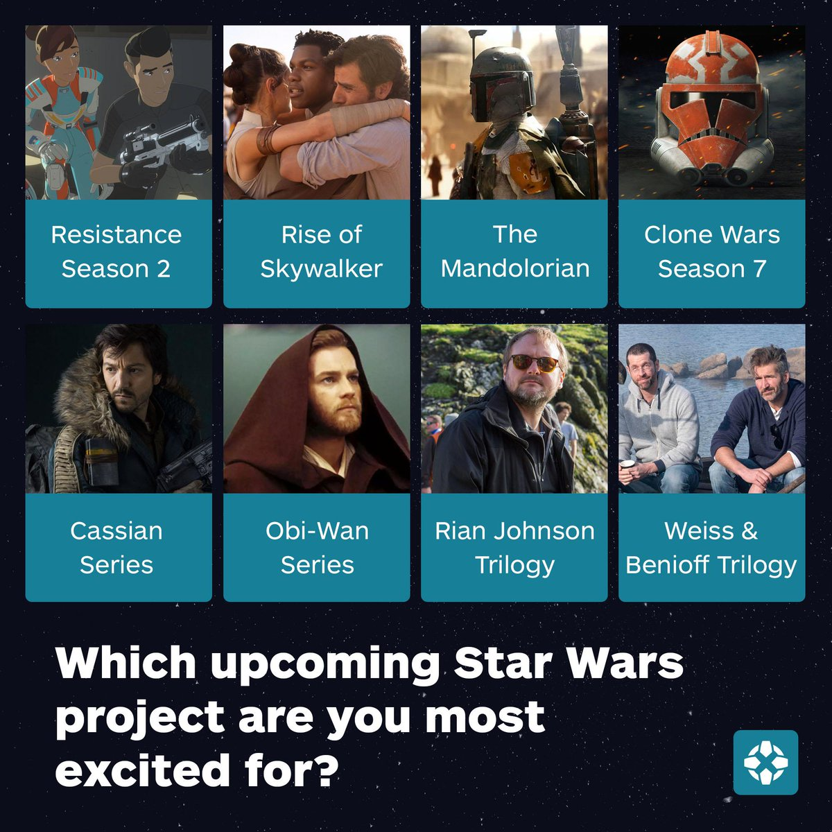 Which Star Wars project has the high ground?