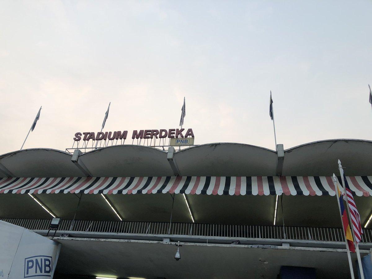 Selamat Pagi , the iconic Stadium Merdeka ✨