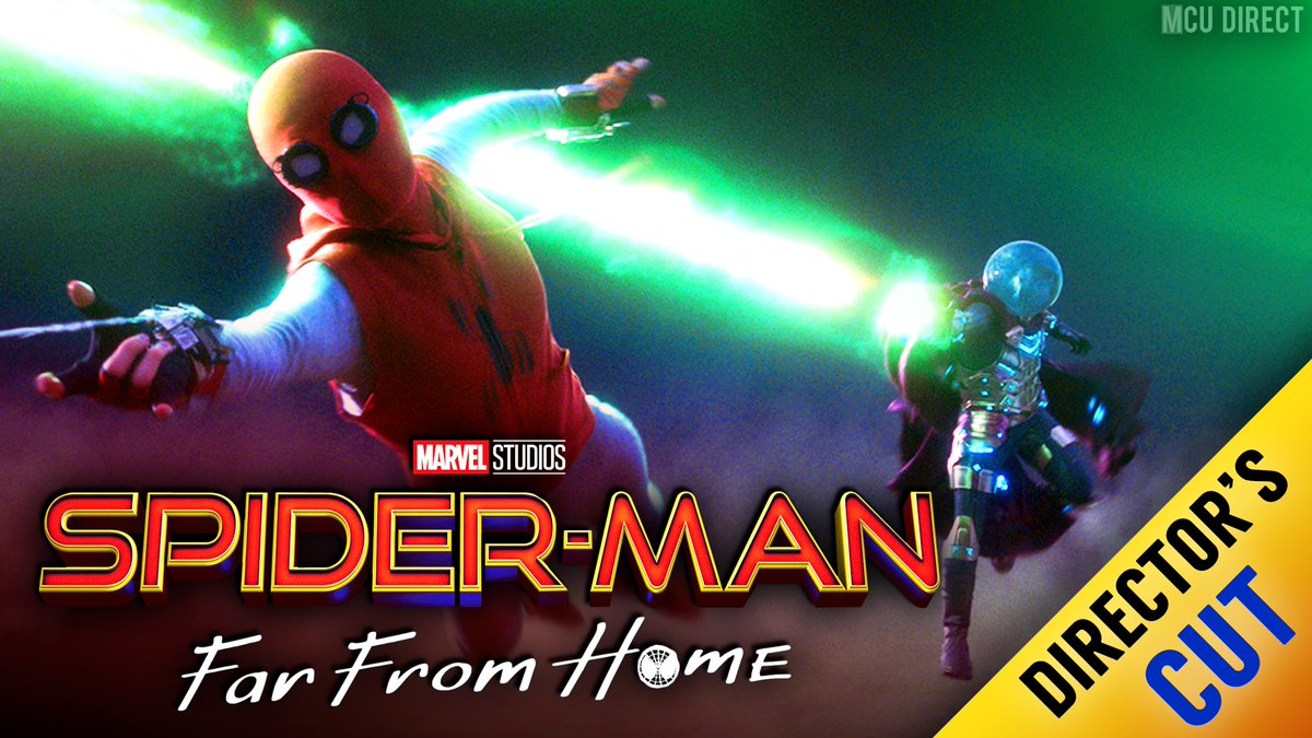 RUMOR: A special directors cut of #SpiderManFarFromHome featuring unseen footage will reportedly be released in US theaters over Labor Day weekend! bit.ly/2KD8ifJ