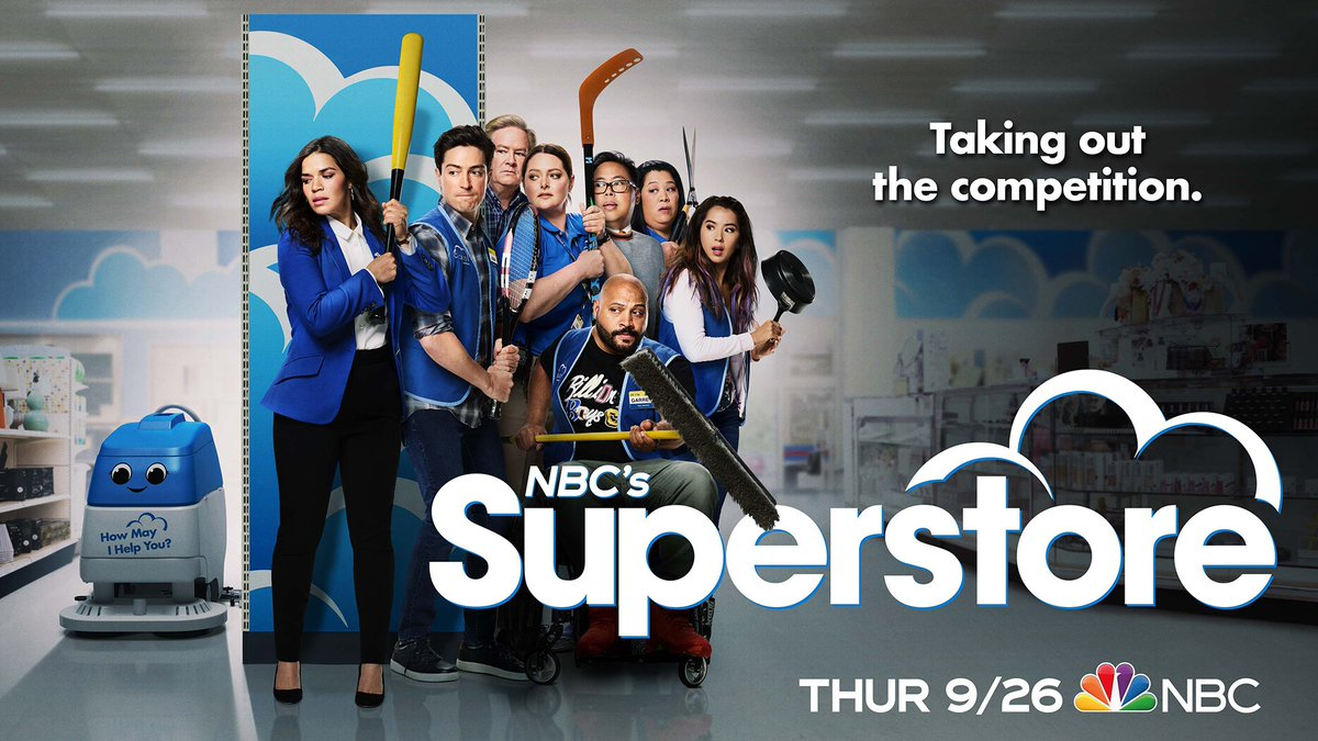 A workforce to be reckoned with.#Superstore returns Thursday, September 26 on @nbc.