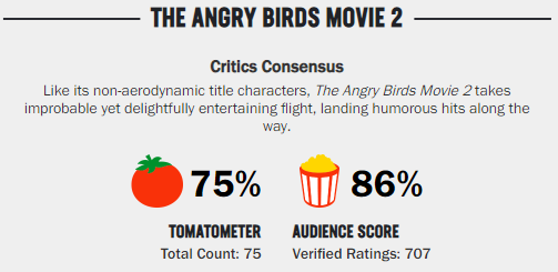 What timeline are we living in where DORA and ANGRY BIRDS 2 are great films and the LION KING and ALADDIN are garbage? <br>http://pic.twitter.com/xdQGEzx4C1