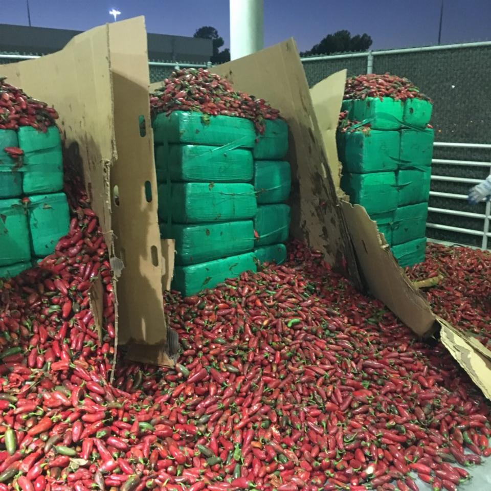Drug bust: Nearly 4 tons of marijuana found in shipment of jalapeño peppers in San Diego