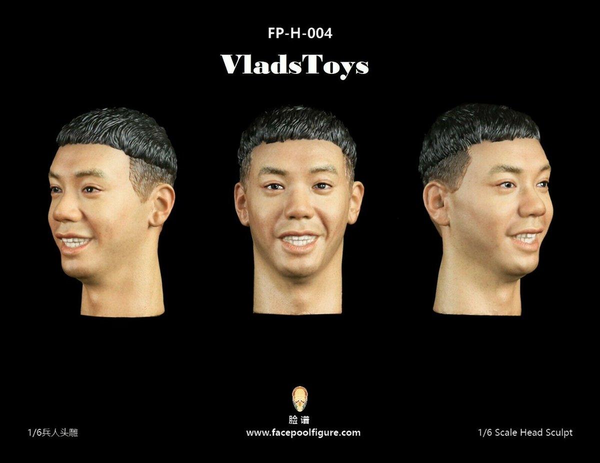 1//6 Scale Toy Male Head Sculpt Avec Expression Version 5