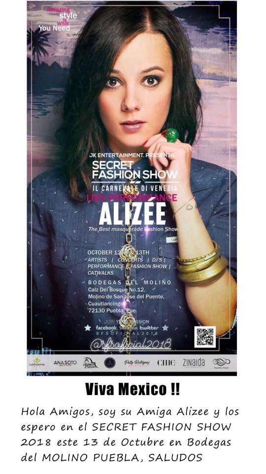 Por otro lado hace un año caí en las mentiras de Alizée.