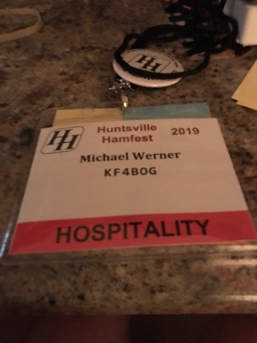 huntsvillehamfest hashtag on Twitter