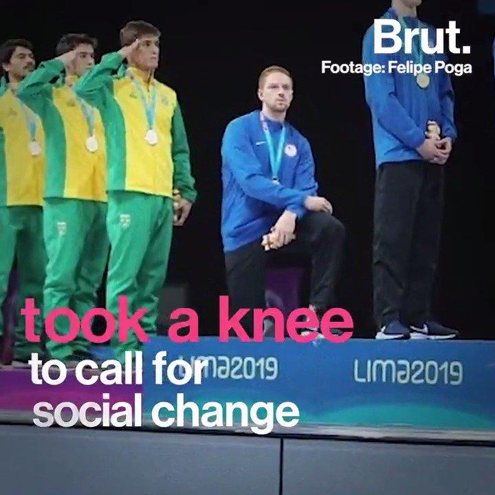 U.S. Athletes On Probation For Pan-Am Games Kneeling Protest