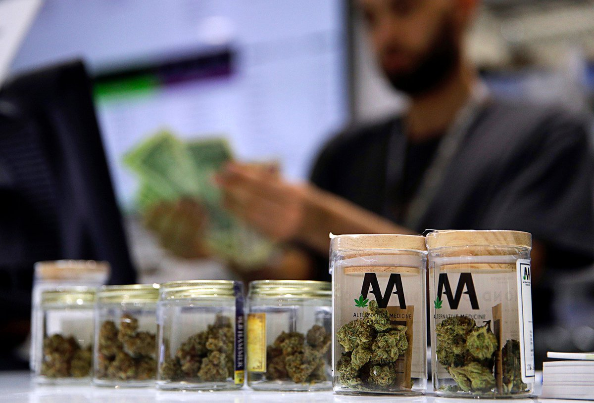 Nevada judge is asked to let new wave of retail marijuana shops open http://bit.ly/2TDcX4h