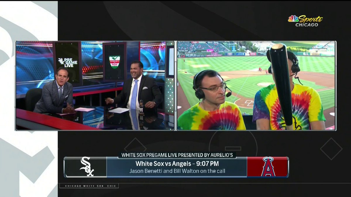 Please put Bill Walton in every single baseball booth ever for the rest of time.