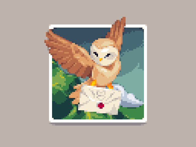R Pixelart On Twitter Hogwarts Letter Artwork For Today S Pixel Dailies By Reff Sq Pixelart Https T Co Jomezubwda