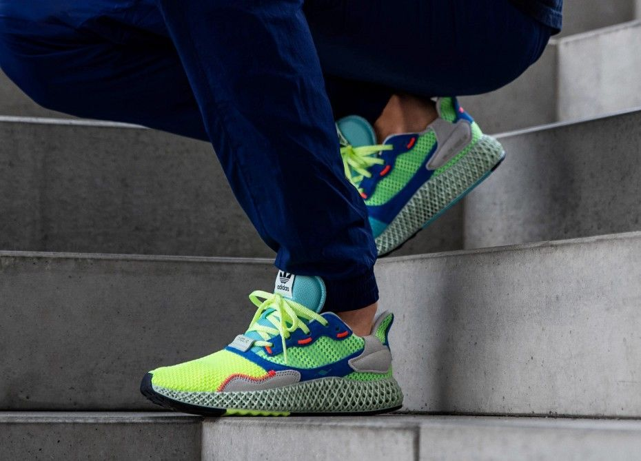 Foot Look at the adidas ZX 4000 4D