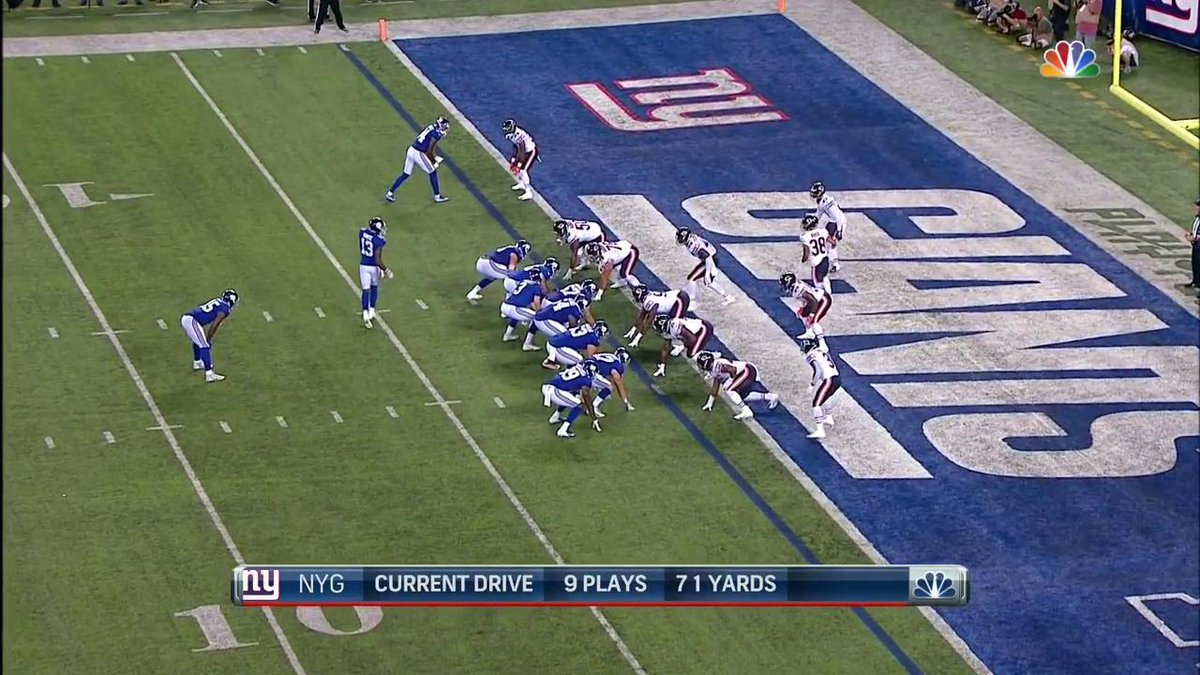 DUCK DIVE 😱 @TheyLove_Duck 📺: #CHIvsNYG on @NFLNetwork Watch on mobile: on.nfl.com/DMUfNN