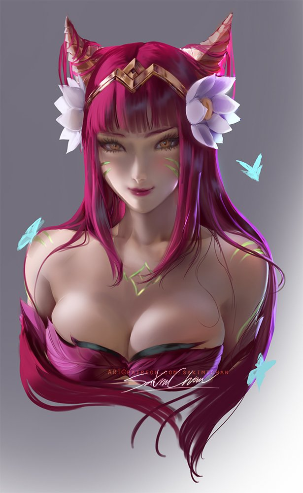 Elder wood Ahri portrait :3result of this terms voice over tutorial !/ HD jpg- https:// patreon.com/posts/29201379     <br>http://pic.twitter.com/7TzzhUmjKs