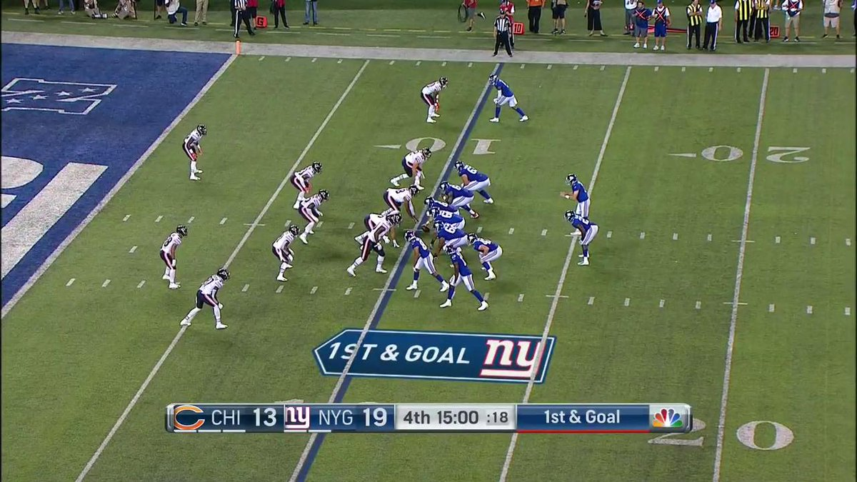 .@thrilliman extends the @Giants lead! 📺: #CHIvsNYG on NFL Network (or check local listings)