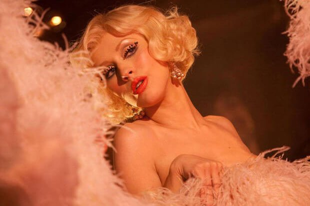 """A Grammy-robbed song from an Oscar-robbed film. @xtina's 'Burlesque' anthem """"Express"""" deserved so much more love:  https:// idola.to/2LqDrSi    <br>http://pic.twitter.com/jqTBS7yryY"""