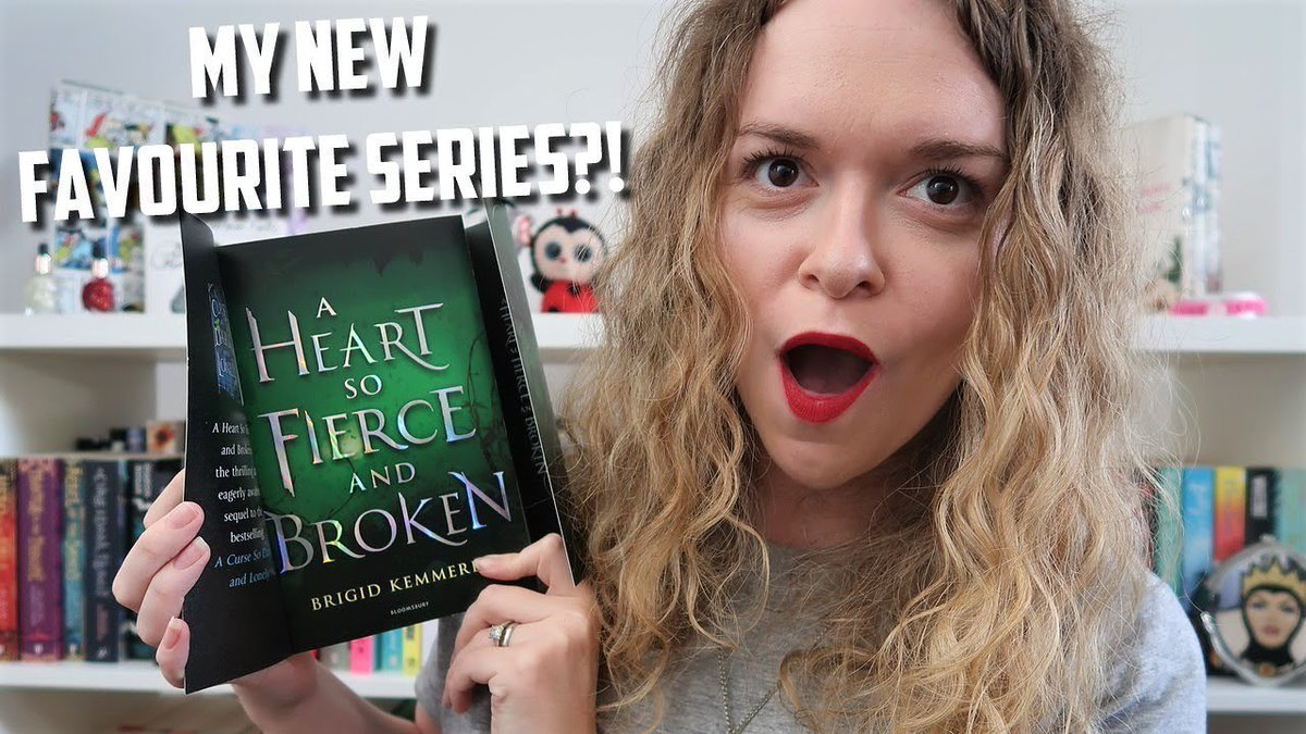 A HEART SO FIERCE AND BROKEN REVIEW   WORTH THE HYPE?! (The second book in one of my favourite series is finally in my hands! Check out my thoughts below!) 👇👇👇 #TeamRhen #Cursebreaker @BrigidKemmerer @KidsBloomsbury @BloomsburyBooks youtu.be/RErXa3VHKak