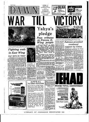 "Gabbbar on Twitter: ""Pic1: Headlines in Pakistani newspapers today Pic2:  Headline in Pakistani Newspaper in 1971 post the surrender… """