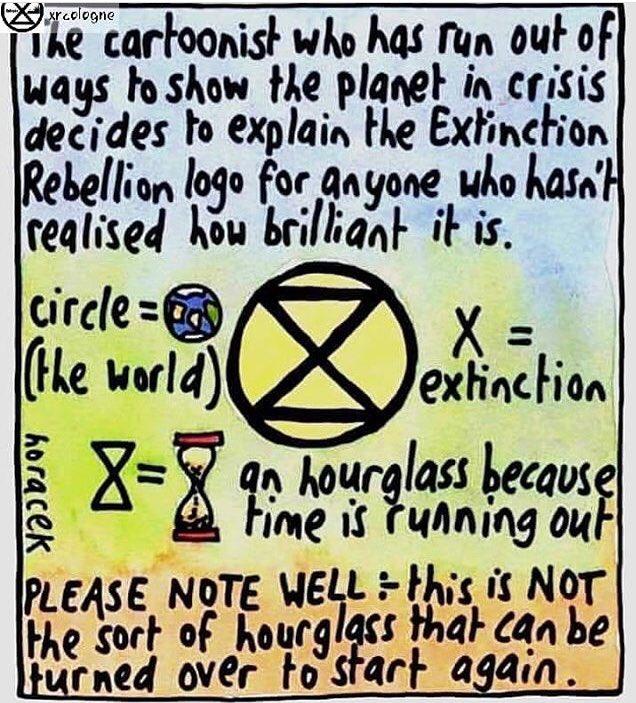 Brilliant. @RebellionEast @ExtinctionR @extinctsymbol @SuffCoastGreens