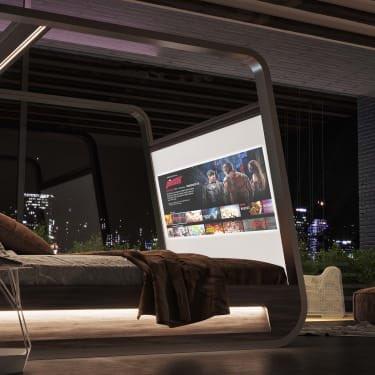 ネットフリックスが70インチスクリーン付きの一体型ベッド売り出して来るので、これ一生出られないやつだなと思ったら、ちゃんと健康管理機能も装備されてるみたい(笑)
