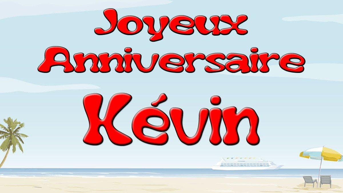 Le Monde De Kevin On Twitter Joyeux Anniversaire Kevin 13