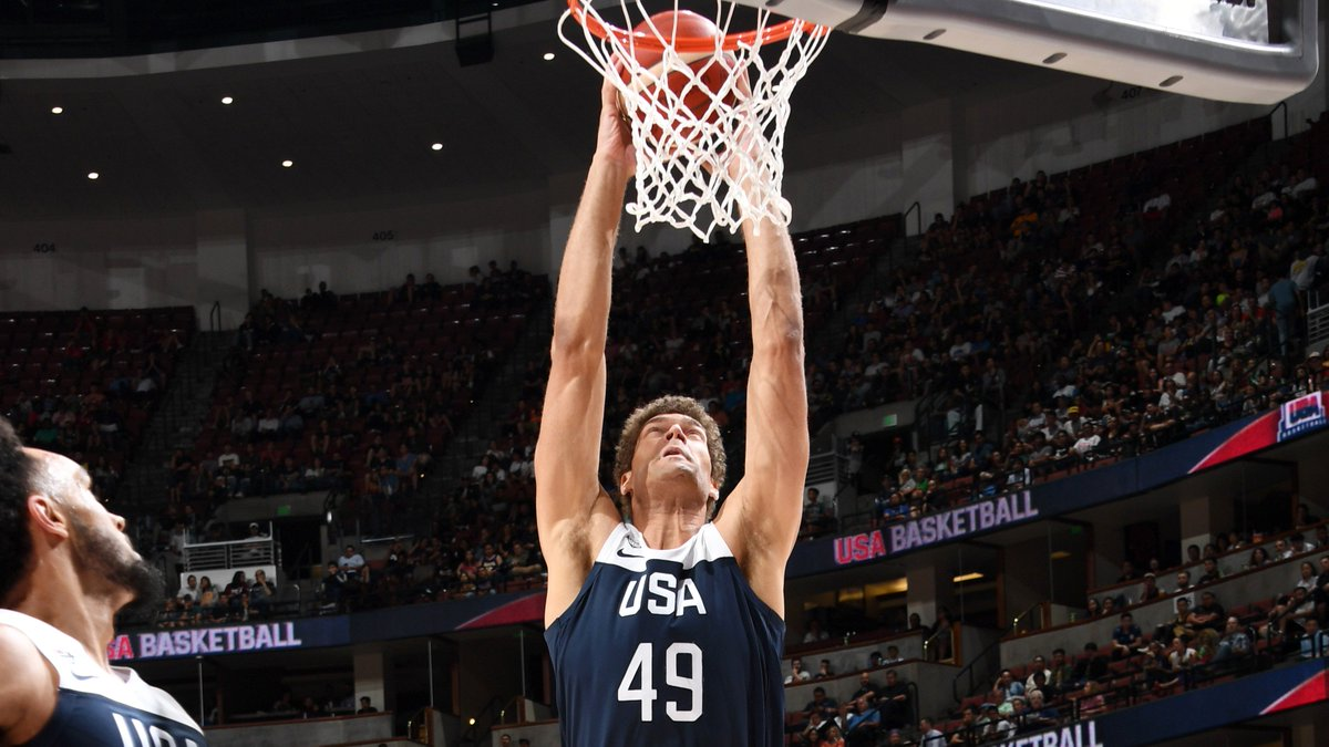 Brook Lopez in USA's 90-81 WIN over Spain:   8 PTS | 2 REB | 2 BLK | 50% FG | 10 MIN.