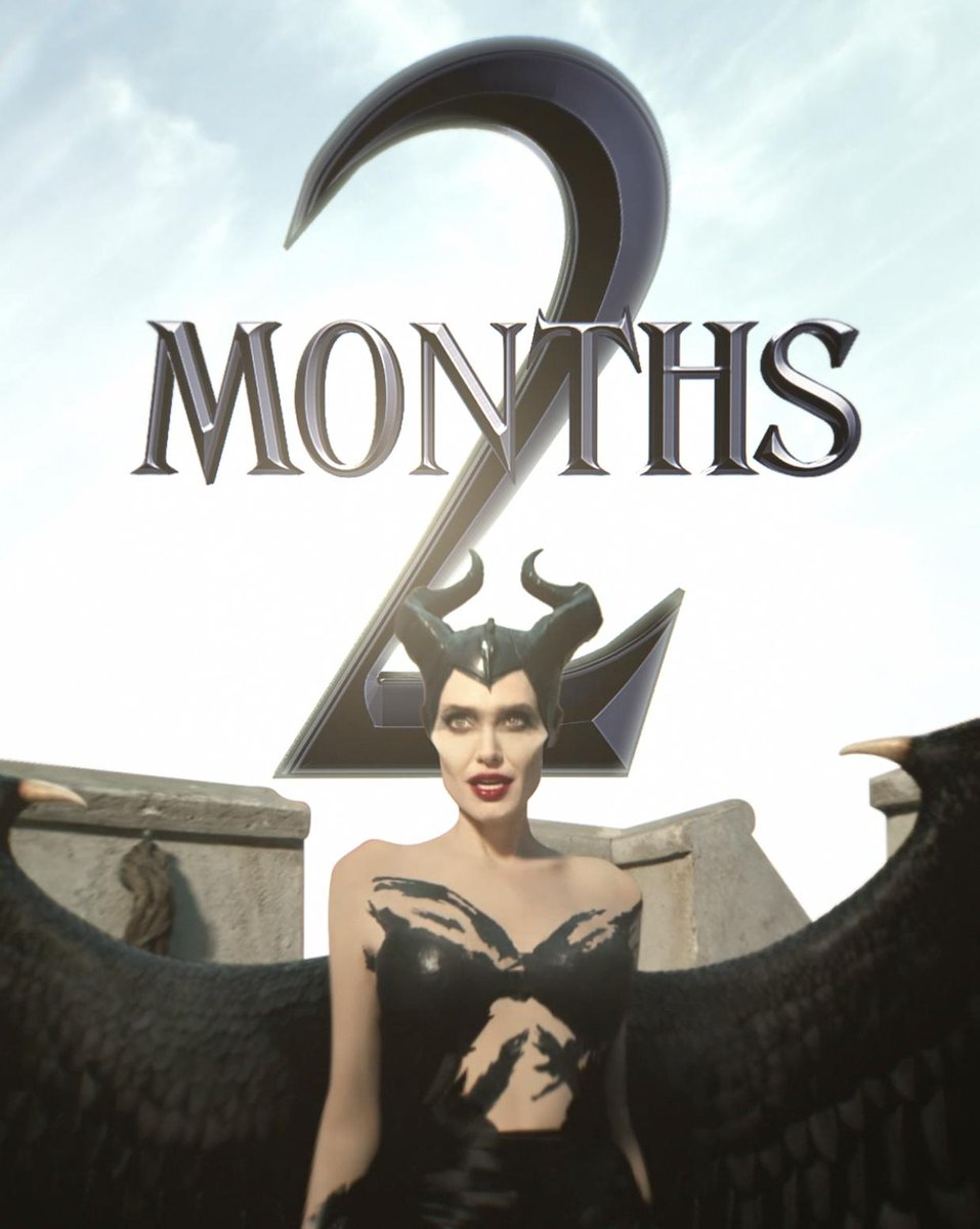 In 2 months, evil will reign. See Disney's #Maleficent: Mistress of Evil in theaters October 18.