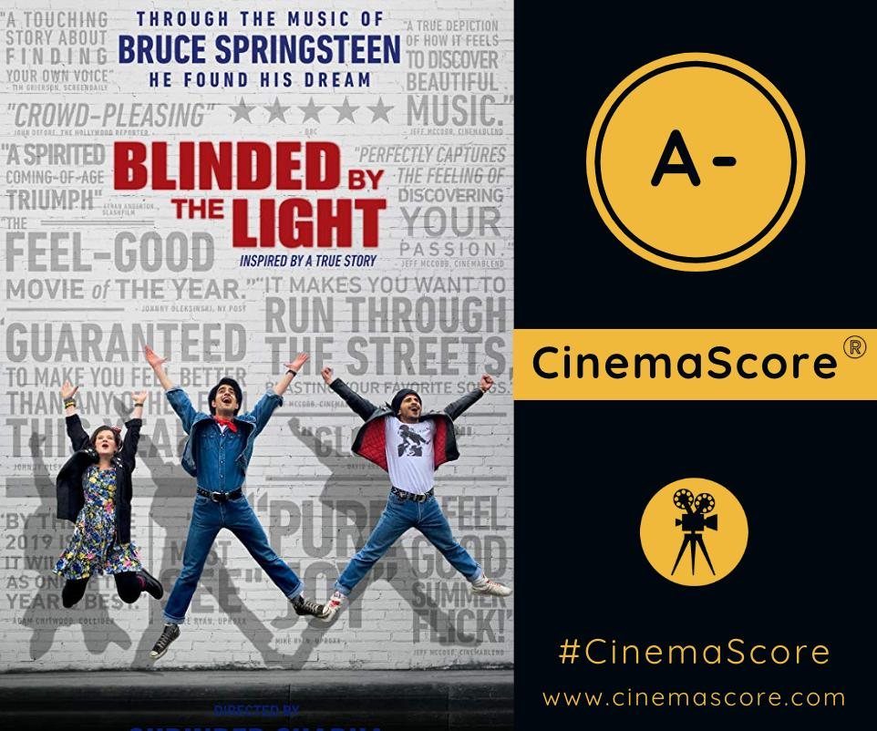 . @BBTLmovie receives an A- #CinemaScore from movie audiences! 👏 What did you think of the movie?