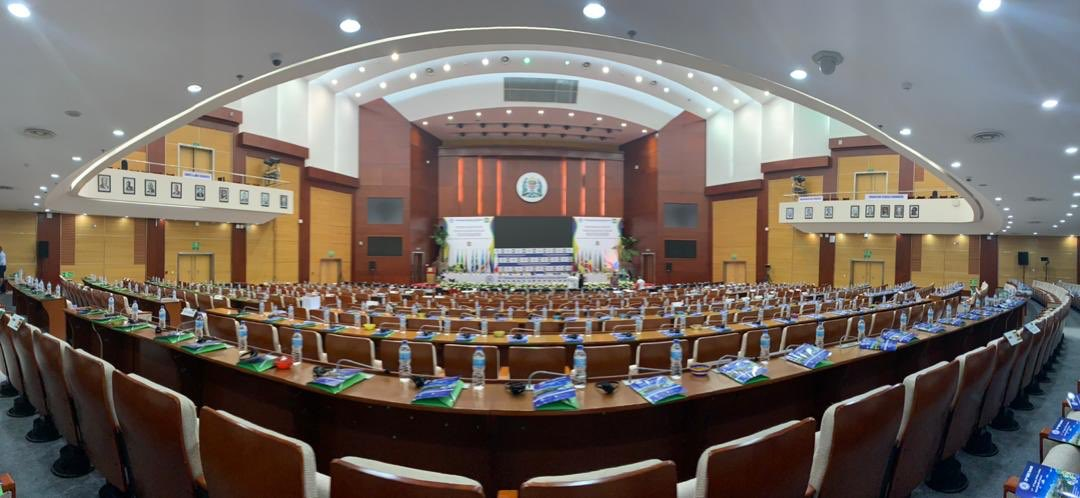Ready for the  official opening ceremony of 39th Ordinary SADC  Summit of Heads of State and Government at our state of the art Selous Hall at JNICC, Dar es Salaam