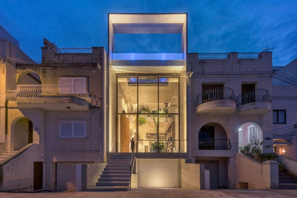 Homedit On Twitter Contemporary House With A Transparent Rooftop Swimming Pool Designed By Studio Architrend Architecture Architecture Interiordesign Https T Co 0qbnyterrh