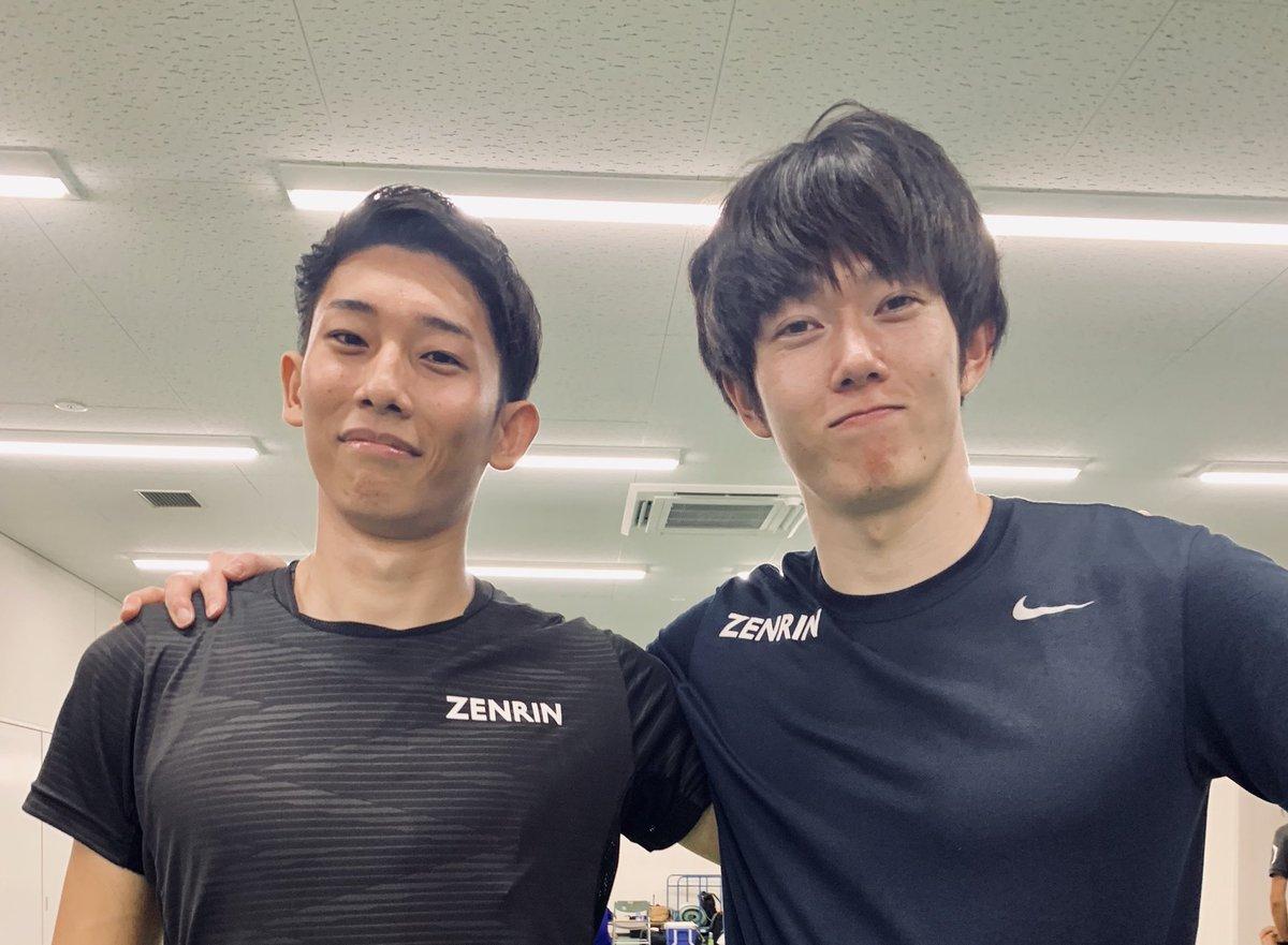 【FUKUI 9.98CUP】+1.1m13秒25🥇直前に城ちゃんが日本記録を出していたので僕も頑張れました( ¨̮ )たくさんの暖かいご声援ありがとうございました!!