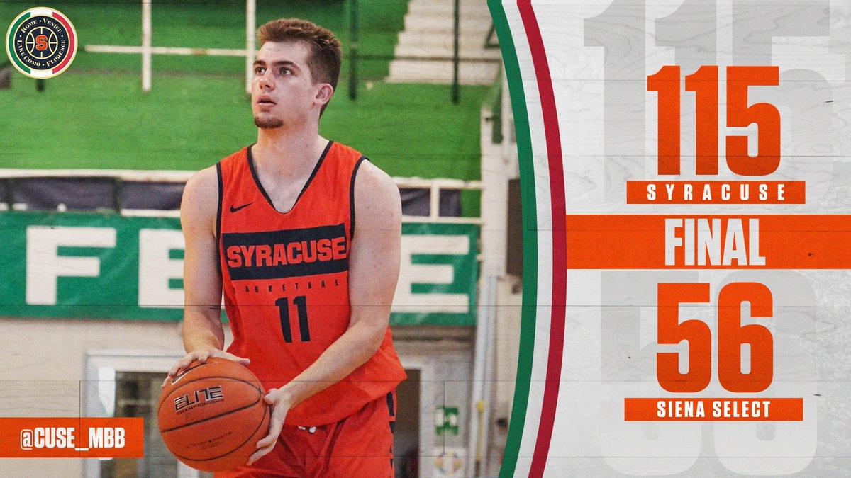 Syracuse Basketball On Twitter Final 6 Orange Score In